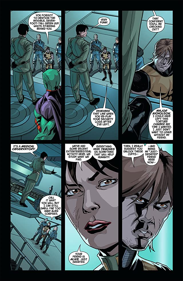 click for super-sized previews of Legion Lost (2011-2013) #6