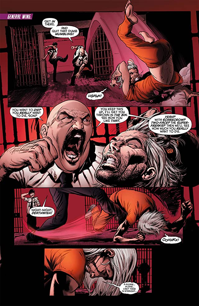 click for super-sized previews of Resurrection Man (2011-2012) #6