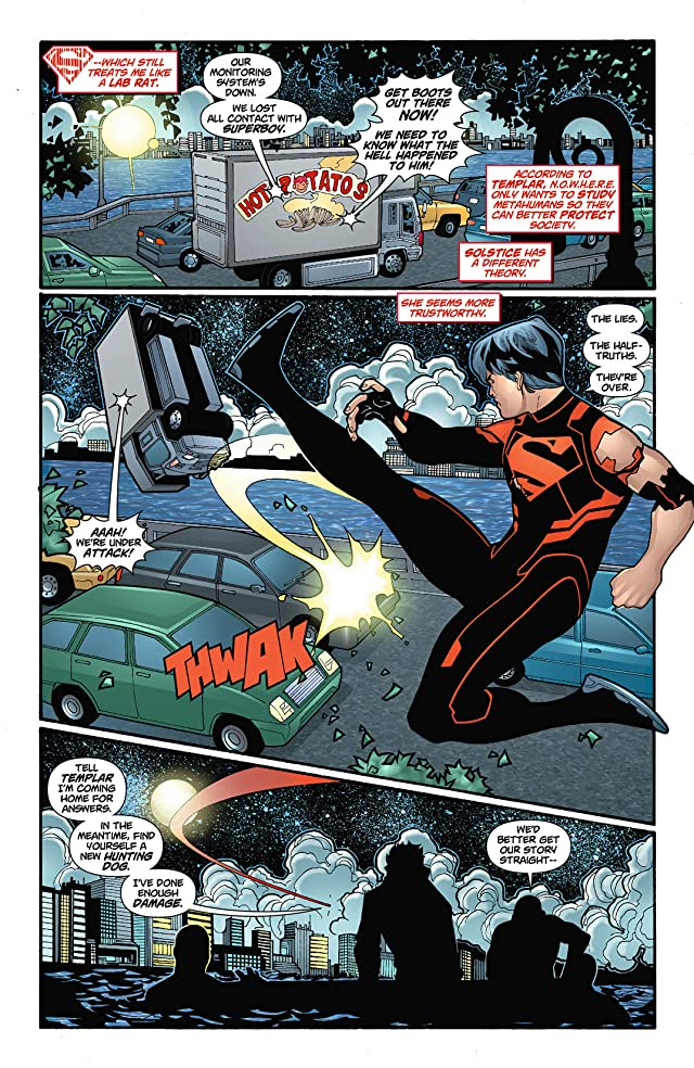 click for super-sized previews of Superboy (2011-2014) #6