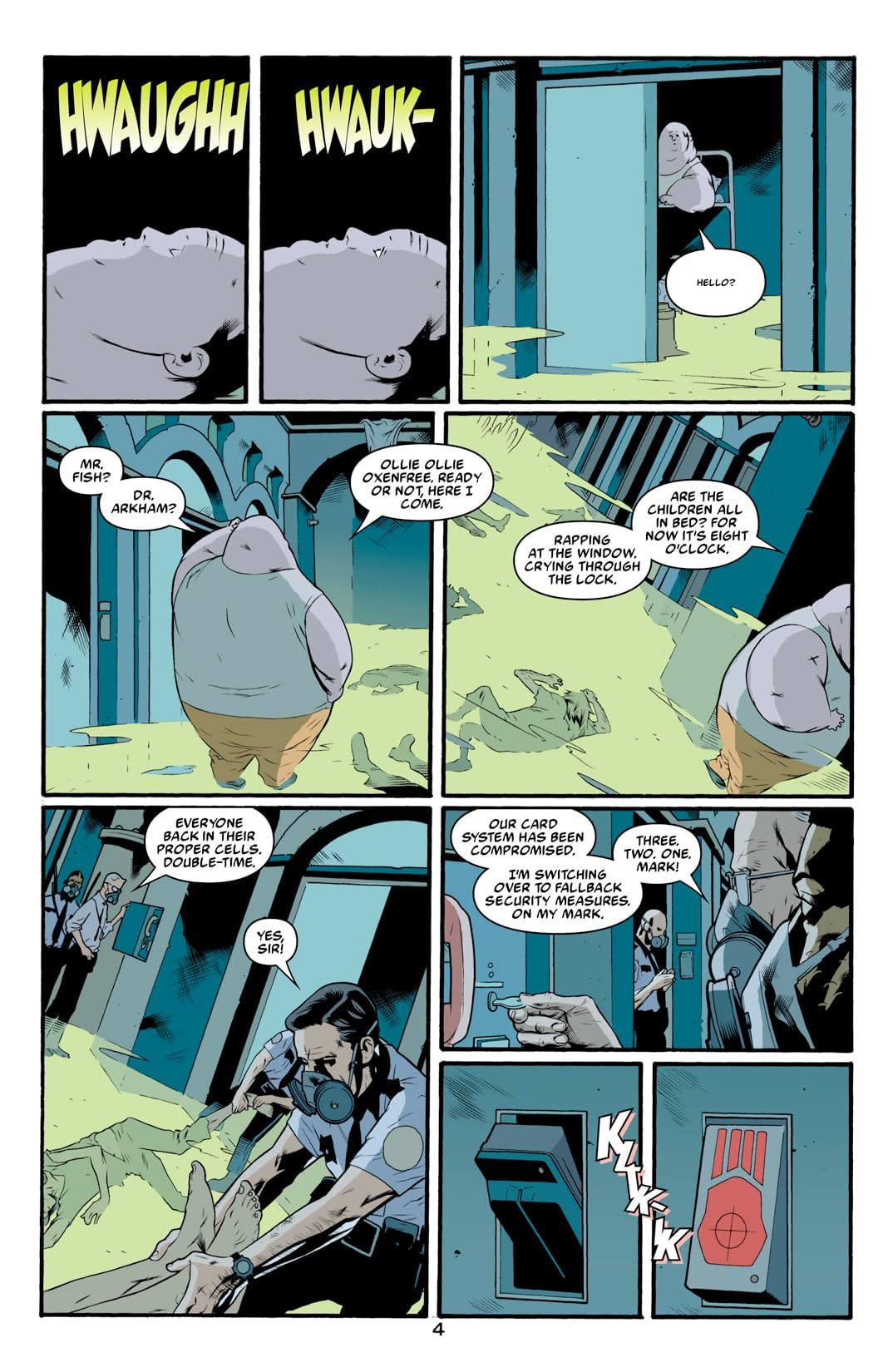 Arkham Asylum: Living Hell #5 (of 6)