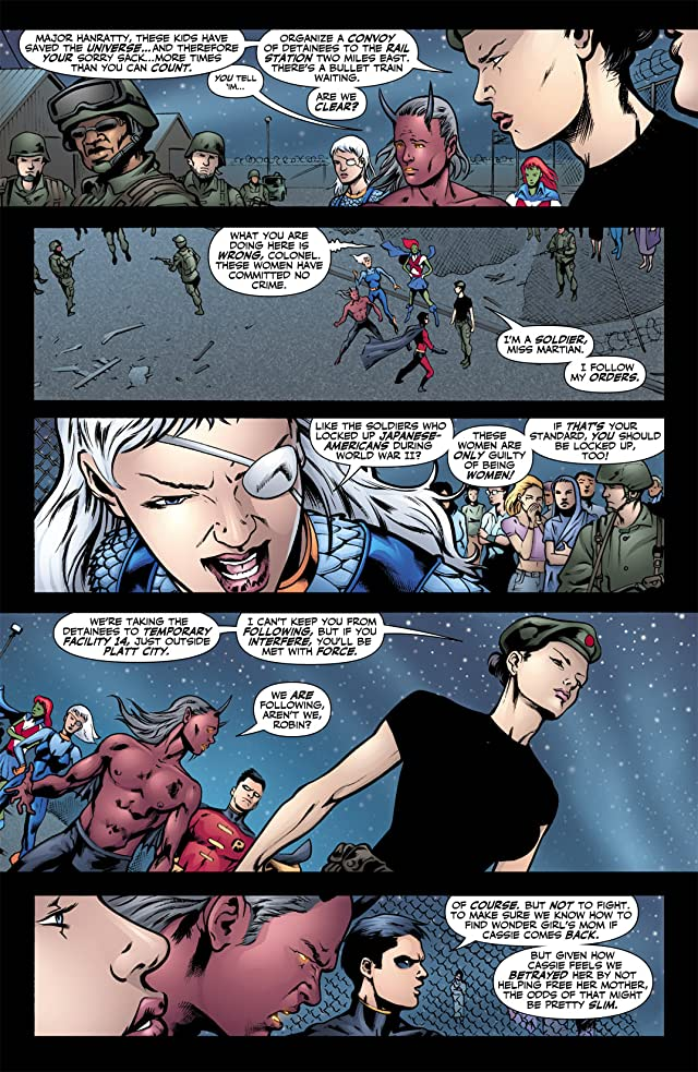 click for super-sized previews of Teen Titans (2003-2011) #49