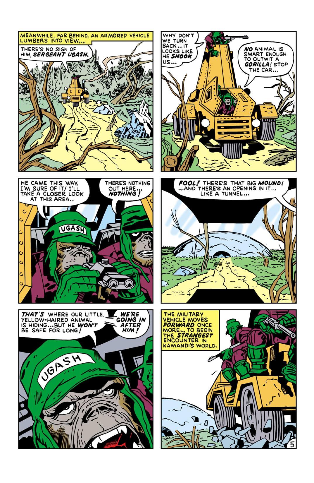 Kamandi: The Last Boy on Earth (1971-1978) #19