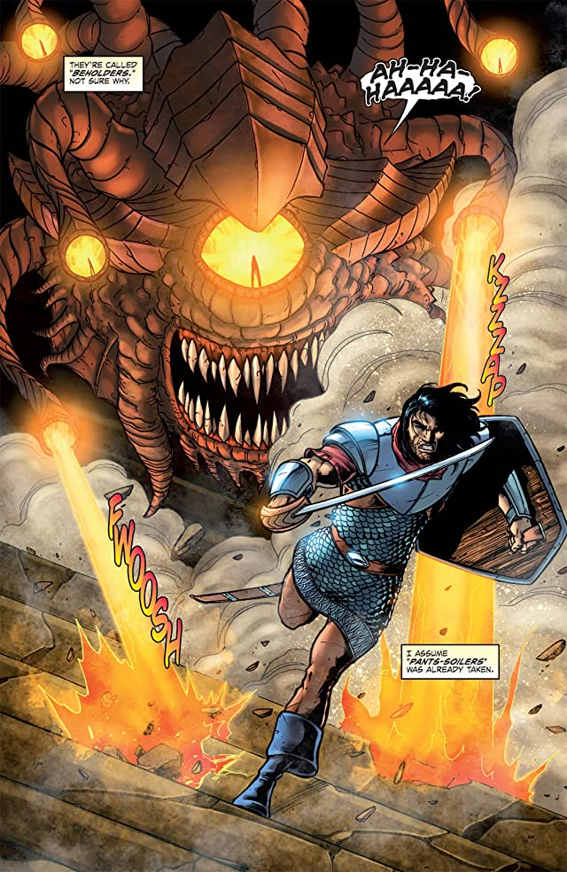 click for super-sized previews of Dungeons and Dragons #15