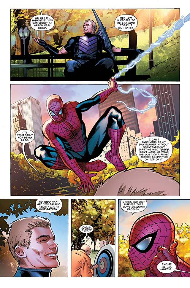 click for super-sized previews of Avenging Spider-Man (2011-2013) #4
