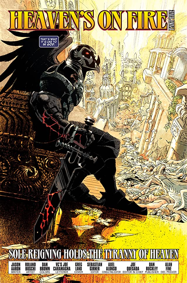 click for super-sized previews of Ghost Riders: Heaven's on Fire (2009) #5