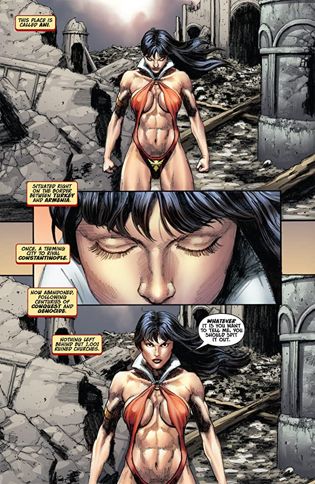 click for super-sized previews of Vampirella #14