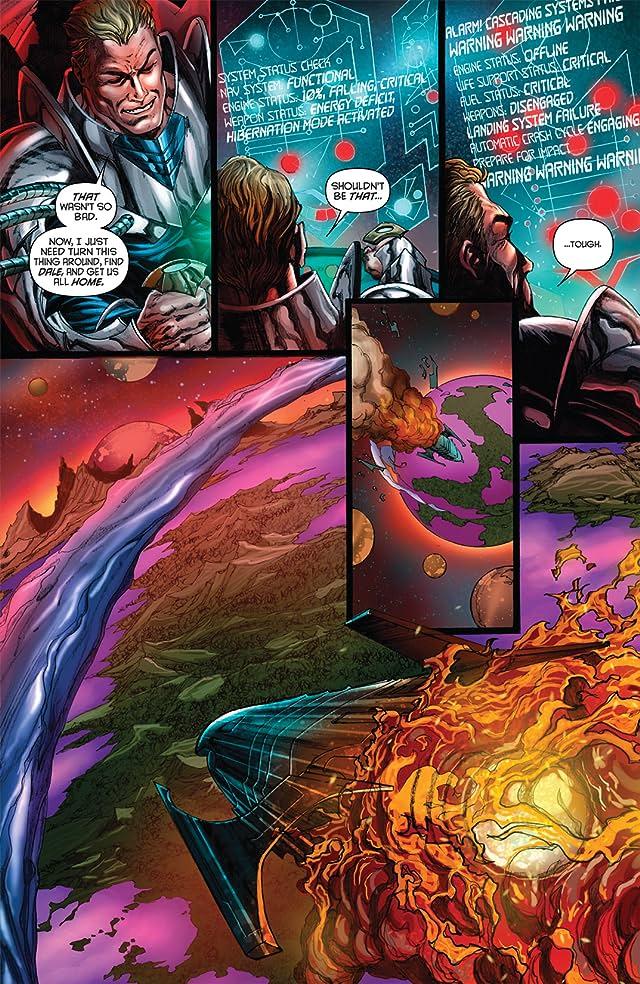 click for super-sized previews of Flash Gordon: Zeitgeist #3