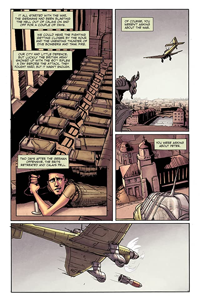 click for super-sized previews of Peter Panzerfaust #1