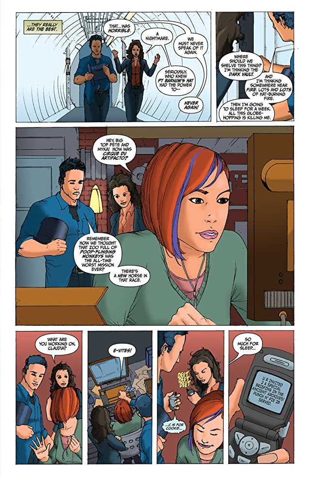 click for super-sized previews of Warehouse 13 #4
