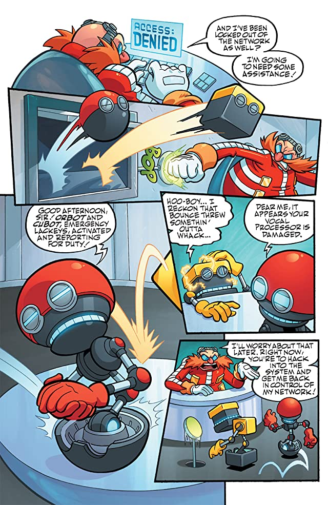 click for super-sized previews of Sonic Universe #37