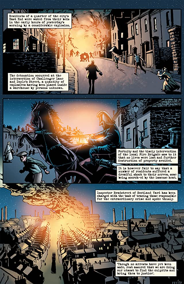 click for super-sized previews of Sherlock Holmes #1 (of 5)