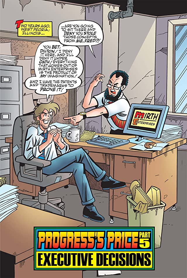 click for super-sized previews of Archie Marries Veronica #17