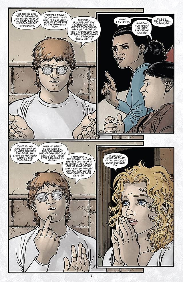 Locke & Key: Clockworks #4 (of 6)