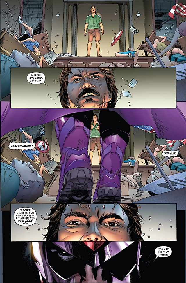 click for super-sized previews of Magneto: Not A Hero #1