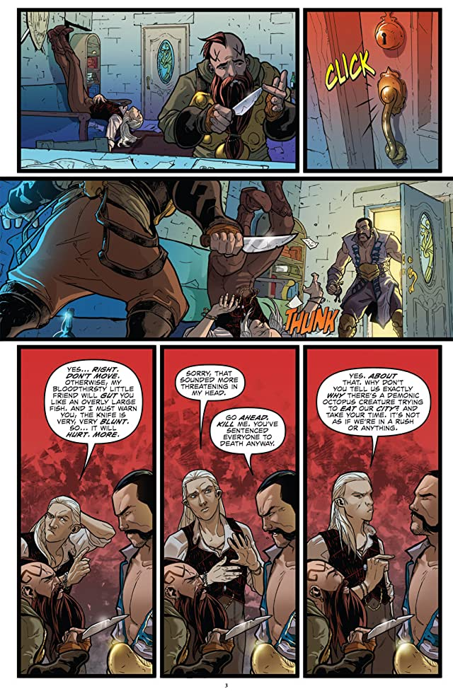 click for super-sized previews of Infestation 2: Dungeons & Dragons #2