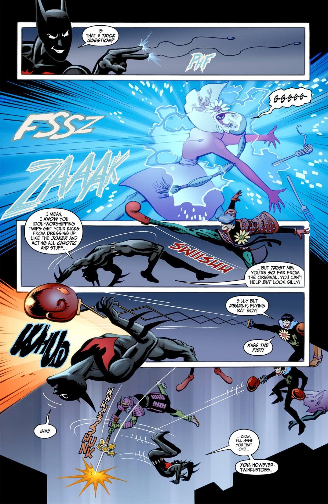 Batman Beyond (2012-2013) #1