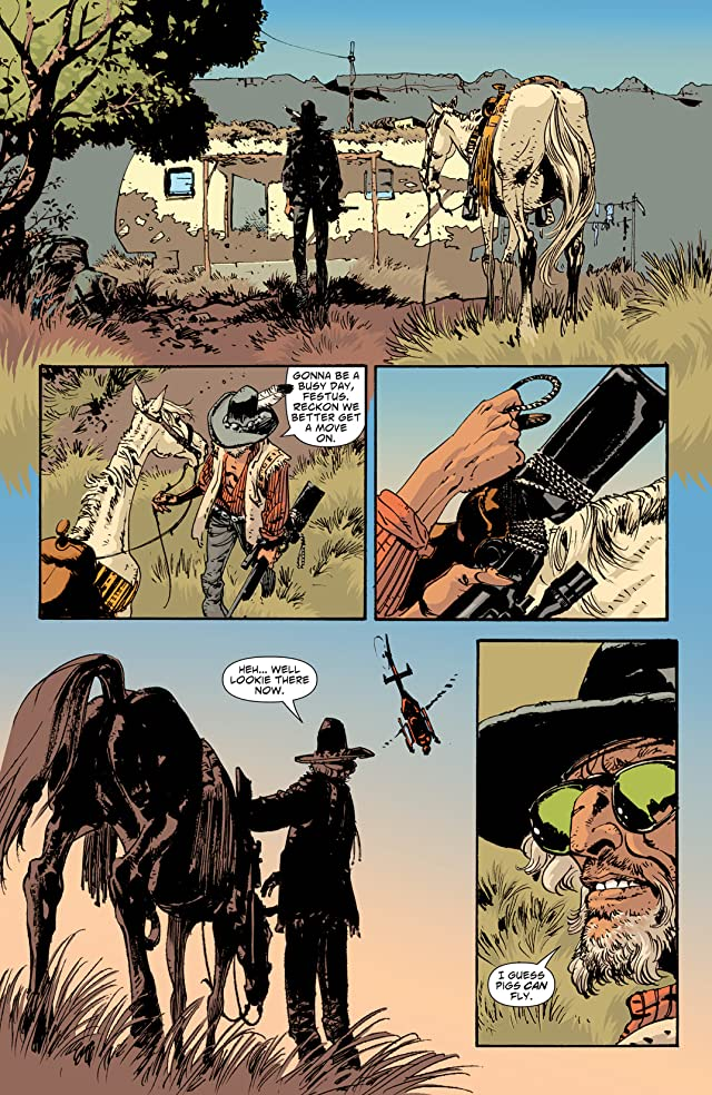 click for super-sized previews of Scalped #33