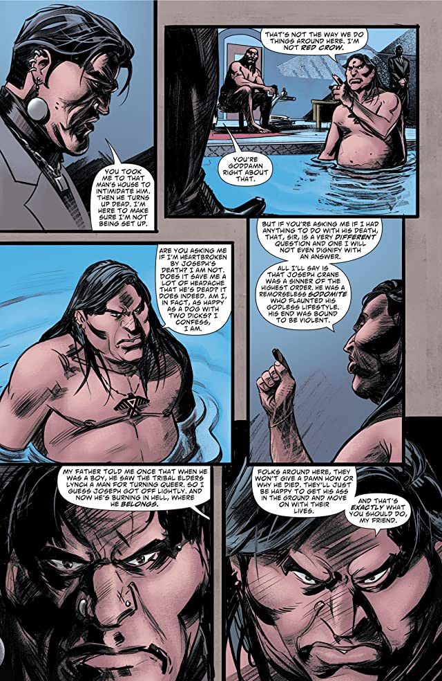 click for super-sized previews of Scalped #37