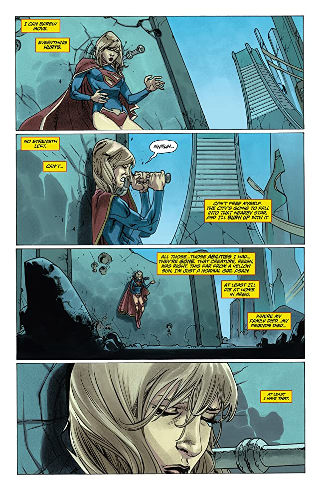 click for super-sized previews of Supergirl (2011-2015) #6