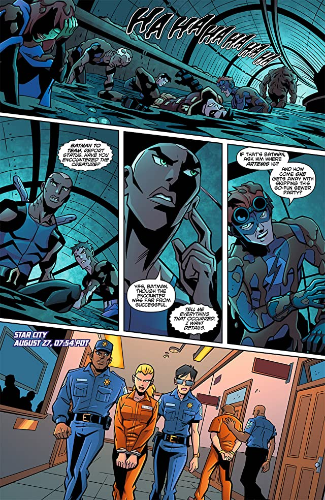 click for super-sized previews of Young Justice (2011-2013) #13
