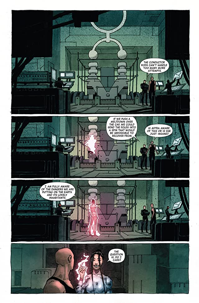 click for super-sized previews of Magneto: Not A Hero #2