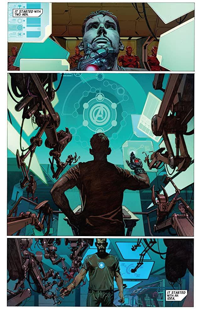click for super-sized previews of Avengers (2012-2015) #1