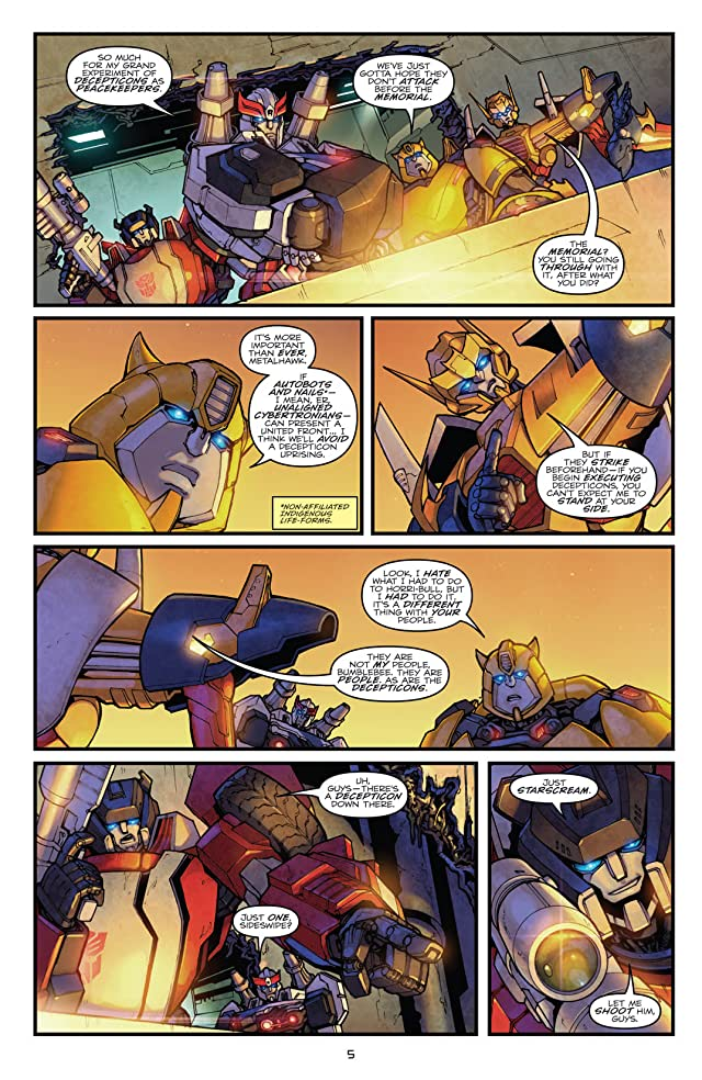 click for super-sized previews of Transformers: Robots In Disguise (2011-) #2