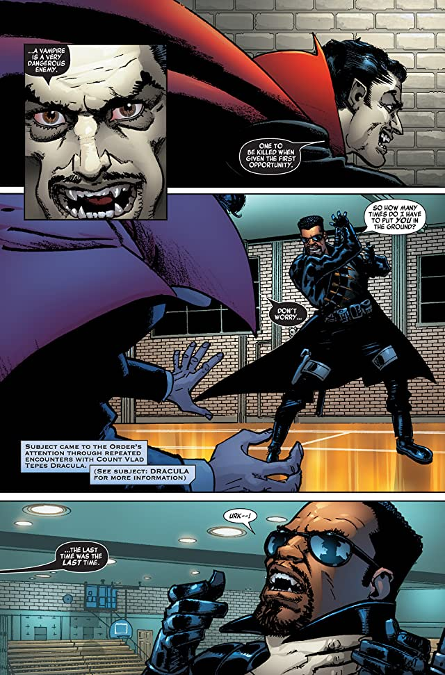 click for super-sized previews of Blade (2006-2007) #1