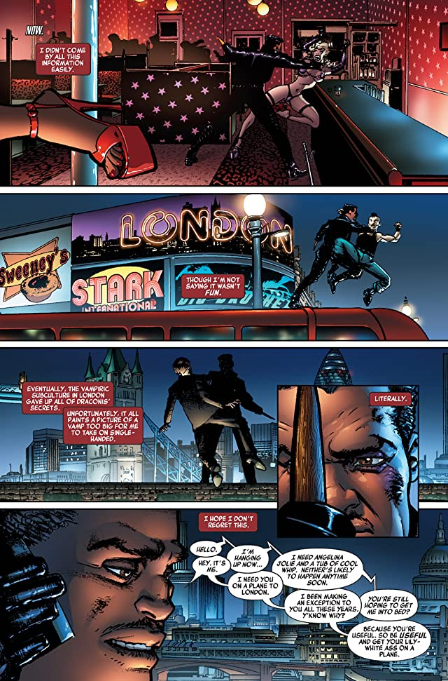 click for super-sized previews of Blade (2006-2007) #8