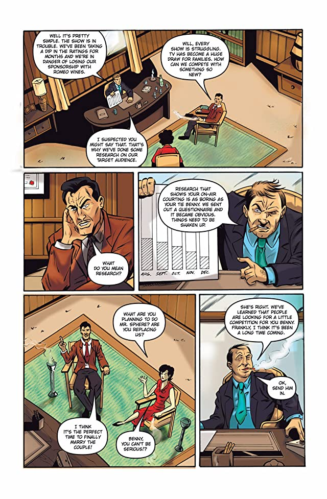 click for super-sized previews of Vincent Price Presents #19