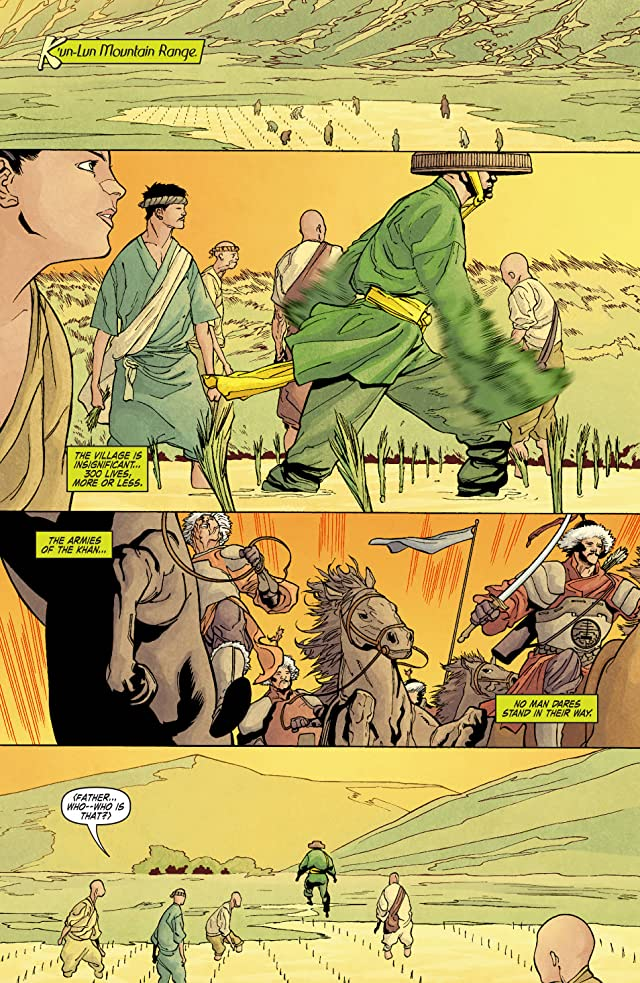 click for super-sized previews of Immortal Iron Fist #1