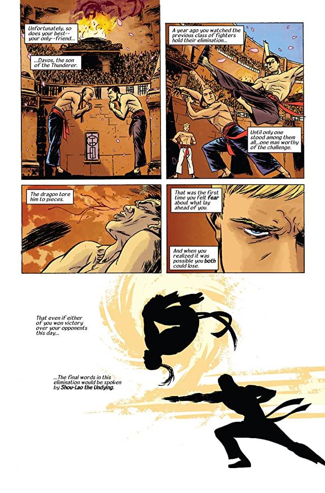click for super-sized previews of Immortal Iron Fist #10