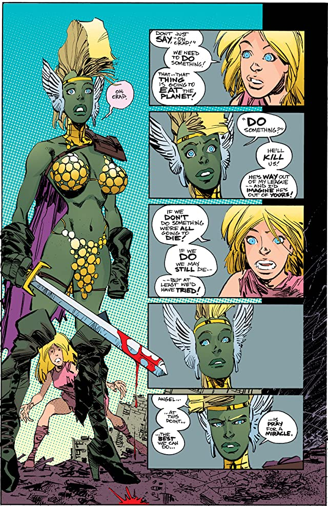 click for super-sized previews of Savage Dragon #130