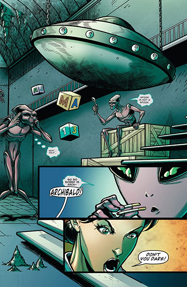 click for super-sized previews of Infestation 2: Team Up #1