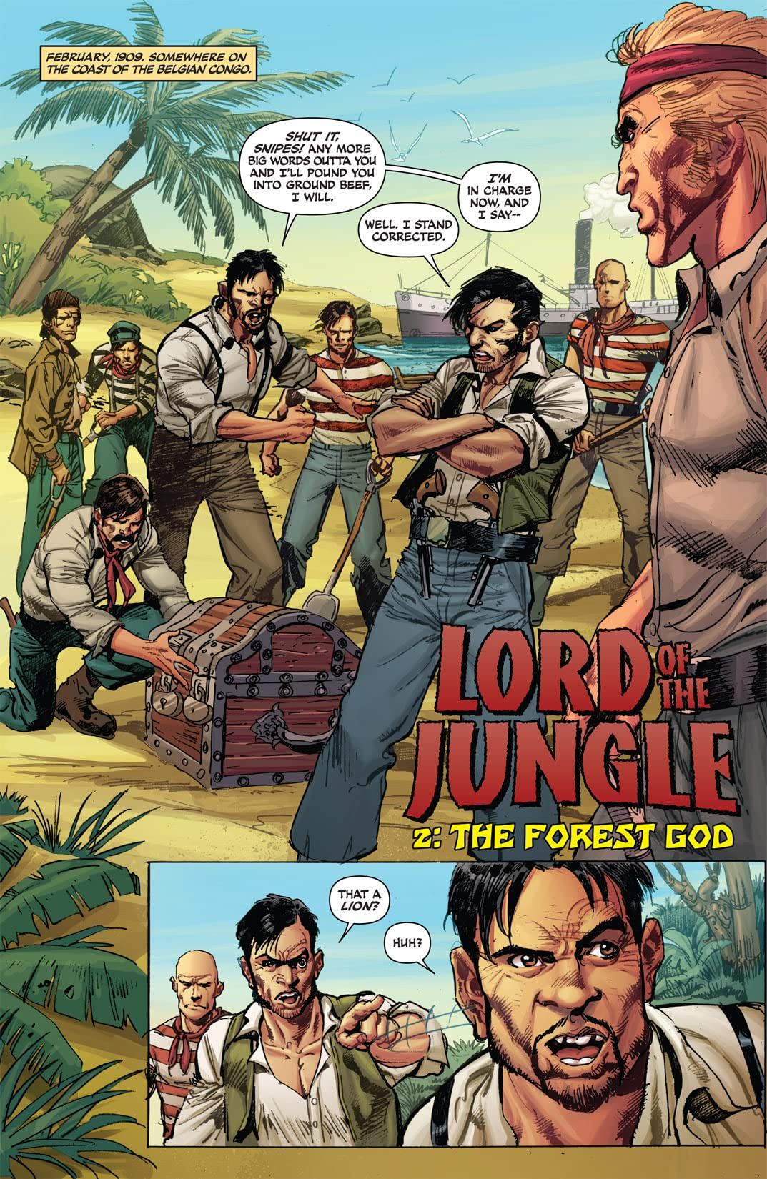Lord of the Jungle #2