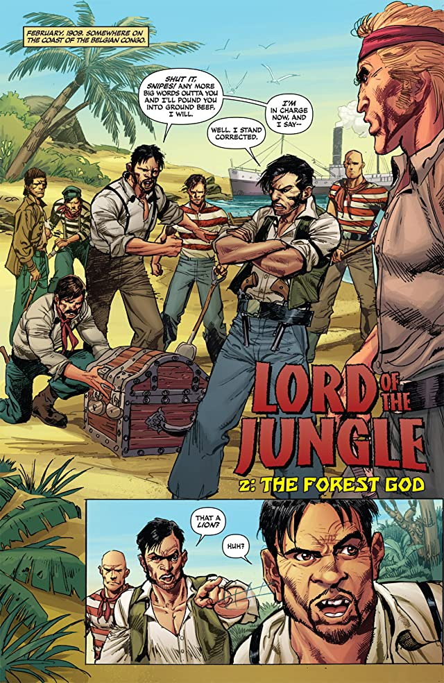 click for super-sized previews of Lord of the Jungle #2