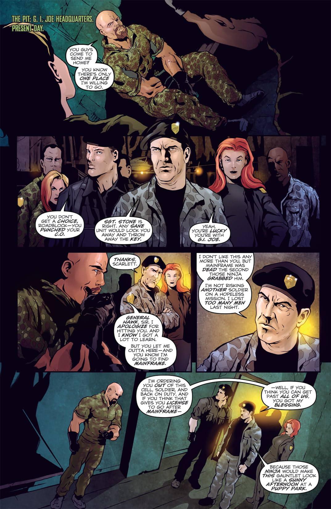 G.I. Joe 2: Movie Prequel - Retaliation #2