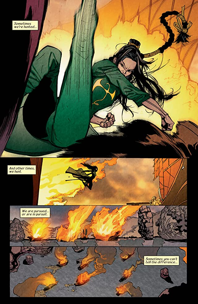 click for super-sized previews of Immortal Iron Fist #2