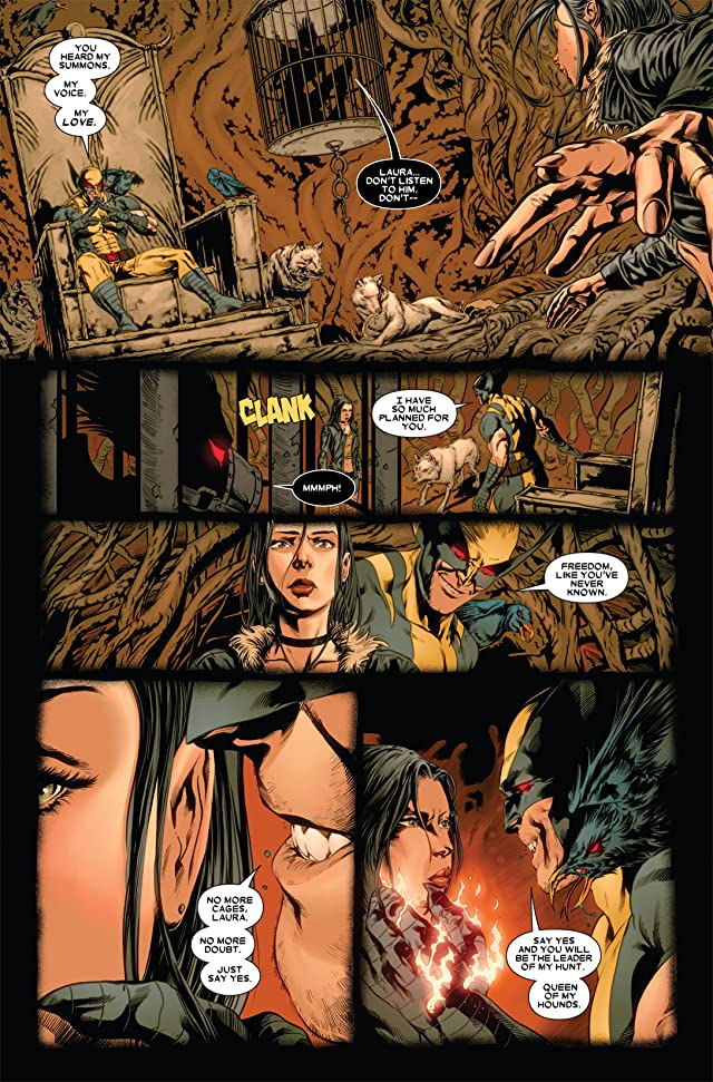 click for super-sized previews of X-23 (2010-2012) #1