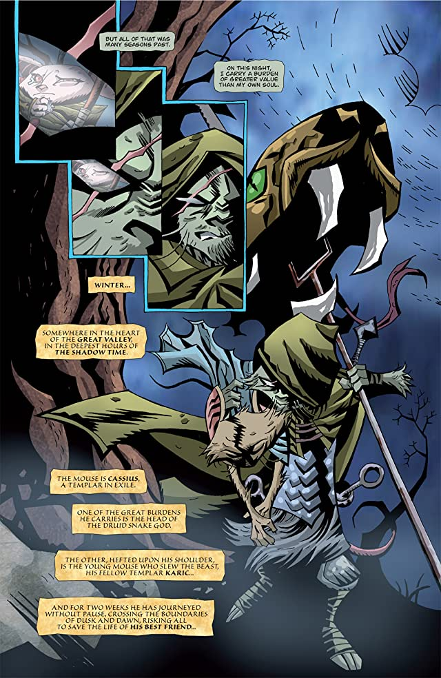 click for super-sized previews of The Mice Templar Vol. 3 #1