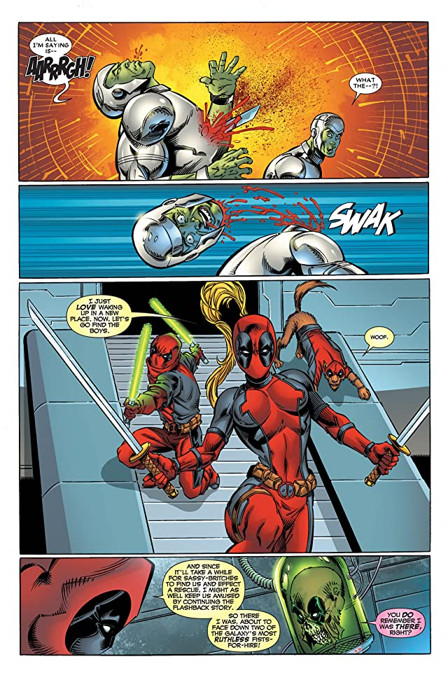 click for super-sized previews of Deadpool Corps #11