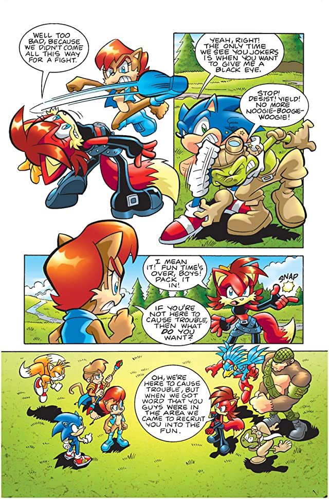 click for super-sized previews of Sonic Universe #15