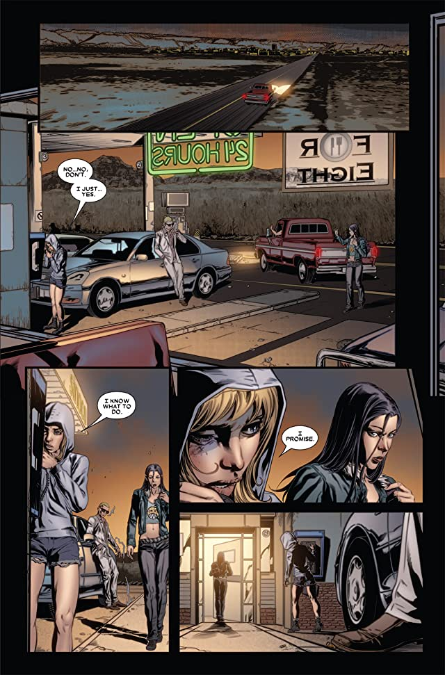 click for super-sized previews of X-23 (2010-2012) #4