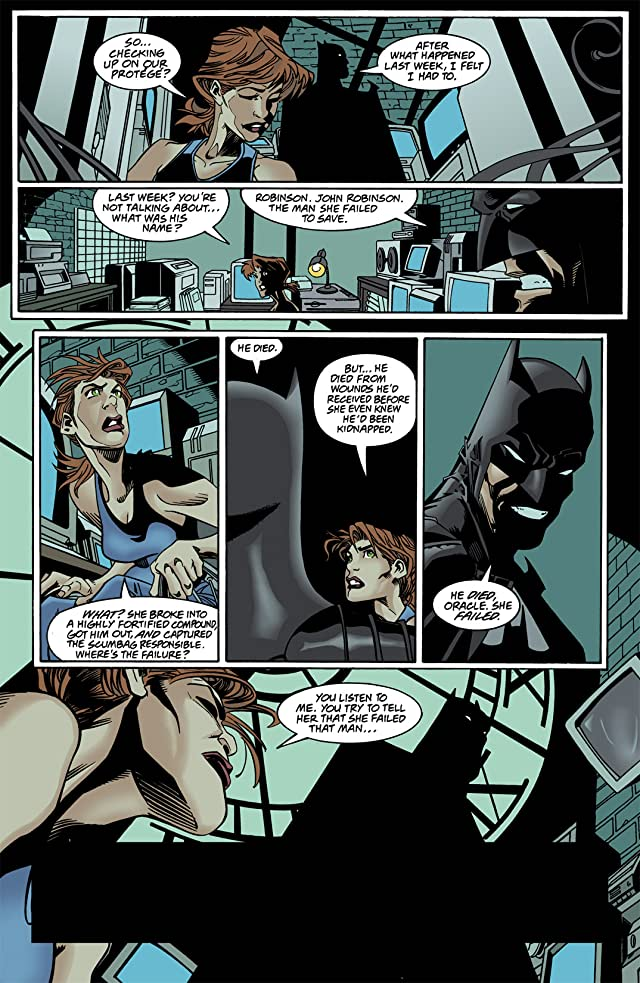 click for super-sized previews of Batgirl (2000-2006) #3