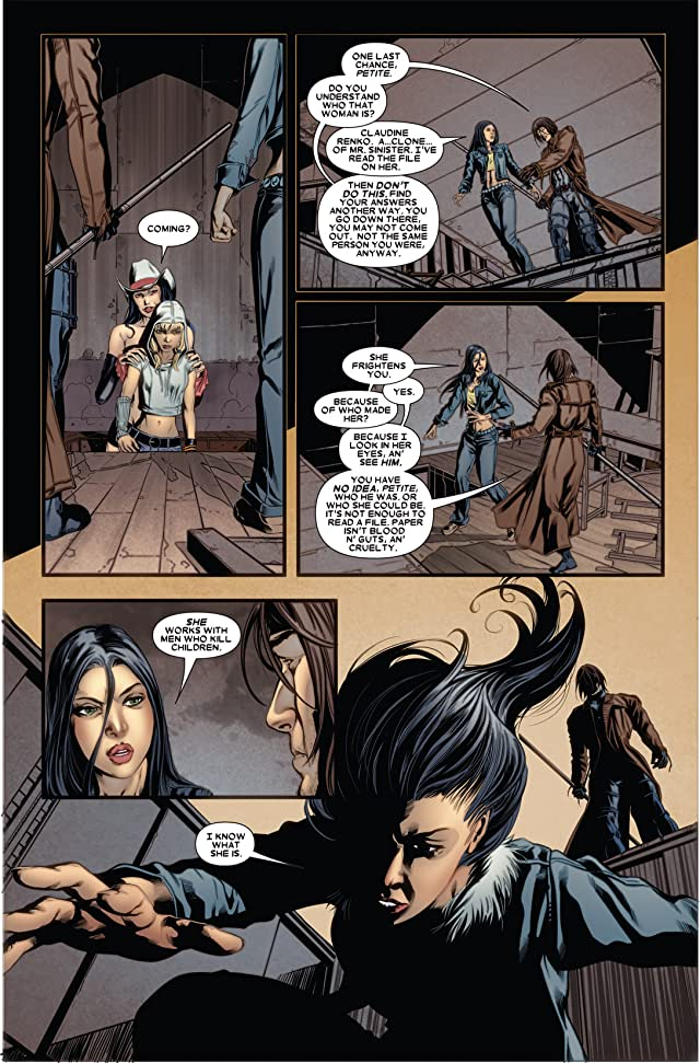 click for super-sized previews of X-23 (2010-2012) #5