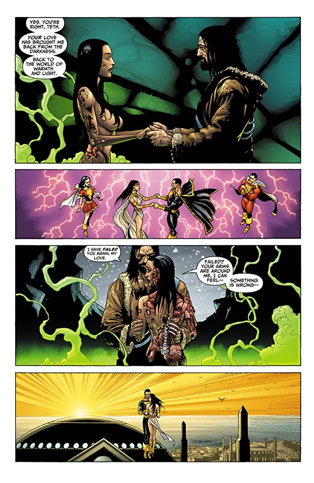 click for super-sized previews of Black Adam #2