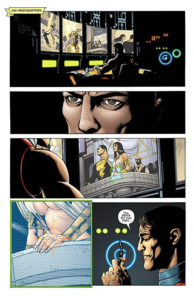 click for super-sized previews of Black Adam #4