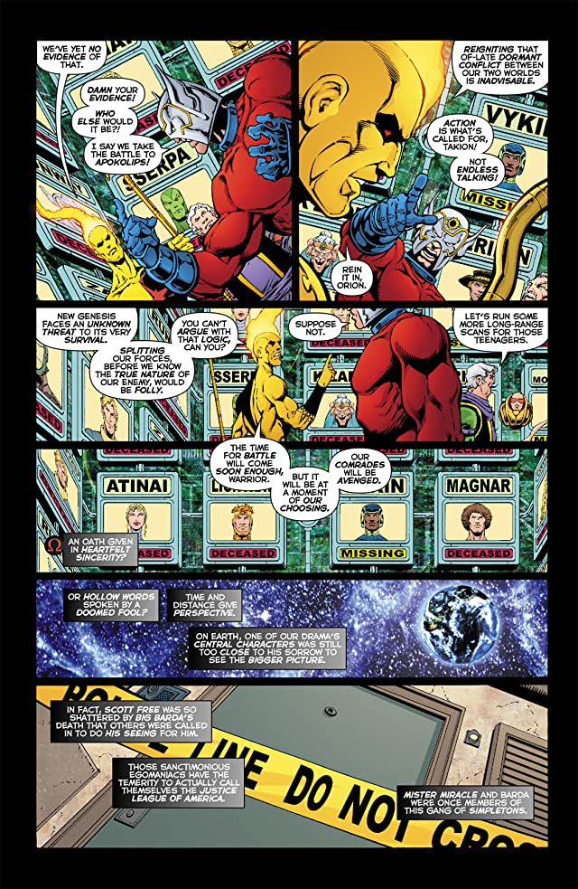 click for super-sized previews of Death of the New Gods #2 (of 8)