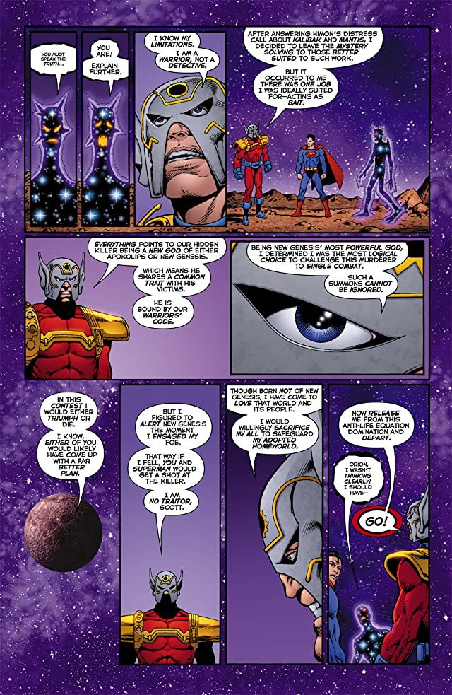 click for super-sized previews of Death of the New Gods #6