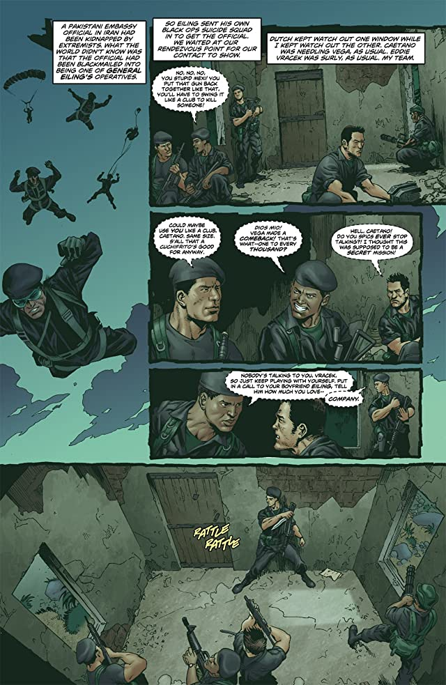 click for super-sized previews of Suicide Squad (2007-2008) #3